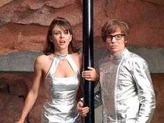 ~ Comedy, Crime = Austin Powers: International Man of Mystery - 1997 Austin Powers Yeah Baby, Sport Tv, International Man Of Mystery, Disco 70s, Movie Halloween Costumes, Elizabeth Hurley, Iconic Movies, Comedy Movies, 1960s Fashion