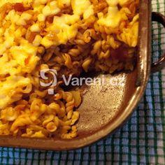 Rajská omáčka s koulemi z mletého masa recept - Vareni.cz Macaroni And Cheese, Ethnic Recipes, Food, Mac Cheese, Meal, Essen, Hoods, Mac And Cheese, Meals