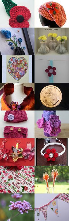 Flower power.......!  by Kathryn Taylor on Etsy--Pinned with TreasuryPin.com