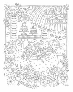 Relax with Art, Colouring for Adults --> If you're in the market for the best coloring books and supplies including watercolors, colored pencils, gel pens and drawing markers, please visit http://ColoringToolkit.com. Color... Relax... Chill.
