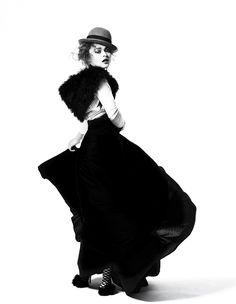 Helena Bonham Carter photographed by Bryan Adams