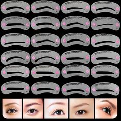 Like and Share if you want this  24 Pcs Pro Reusable Eyebrow Stencil Set     Tag a friend who would love this!     FREE Shipping Worldwide     Buy one here---> http://www.myperfecteyebrows.com/24-pcs-pro-reusable-eyebrow-stencil-set/