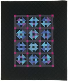 "Free Amish Quilt Patterns | free pattern ~ ""Amish Glow"" by John Kubiniec at Big Rig Quilting; free ..."