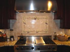 #Kitchen #Backsplash by www.rontimpanaro.com #Tampa #Clearwater #Florida