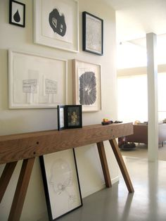 Interior Design Entrance Paintings