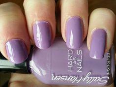 You can never go wrong with purple nail polish. Sally Hansen No Hard Feelings