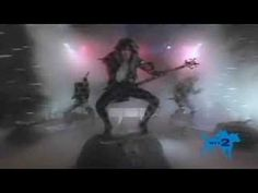 W.A.S.P. - I Wanna Be Somebody (don't agree with Blackie's politics but he gave on hell of a show back in the day!)