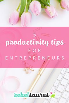 As an entrepreneur, managing your time well is very helpful in getting more done in your online business. Here are 5 productivity tips for entrepreneurs to help you get more done every day.: