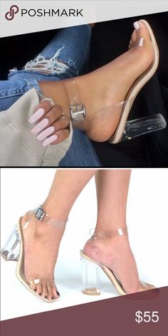 Black Friday! Clear Heels Clear heels! Very popular! - new with box - pre-order.   --------------------- Let's keep in touch ❤️ Instagram: @lanier_boutique Facebook : Lanier Boutique  Twitter: @lanierboutique Snapchat: lanierboutique Shoes Heels
