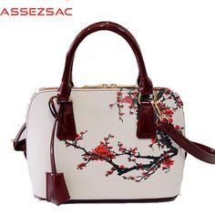 cc6be0040a542 2016 frauen handtasche berühmte marke pu leder handtaschen hohe qualität frauen  taschen drucken tasche für dame taschen LS7030 in Assez sac!