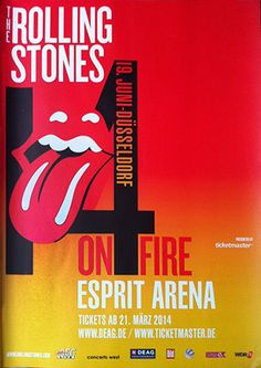 The Rolling Stones - 14 On Fire Tour - Dusseldorf - Germany
