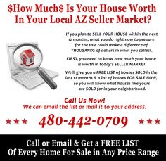 How Much Is Your House Worth In Your Local AZ Seller Market?