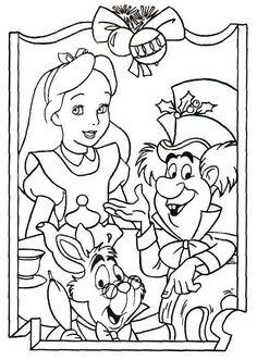 150 Best Alice In Wonderland Coloring Pages Images Wonderland