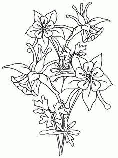 Dibujos de flores hermosas para descargar, imprimir y pintar esta Primavera