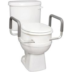 Carex Toilet Seat Elevator With Handles For Elongated Toilets, 1ct - Walmart.com