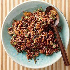 Nutty Almond-Sesame Red Quinoa   Cookinglight.com