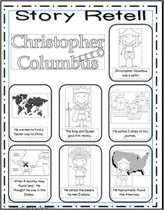 Columbus Day Worksheet  Nina Pinta and Santa Maria  Social