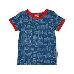 ba*ba kidswear T-shirt city #EKOkatoen #GOTS #duurzaam ekodepeko.nl