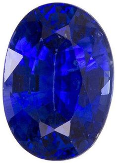 This Genuine Blue Sapphire Gemstone Displays An Intense Rich Blue, Excellent Clarity, Cut And Life, A Beautiful Rich Look In A Calibrated Stone, A Super Find. Note For A Personal Detailed Description