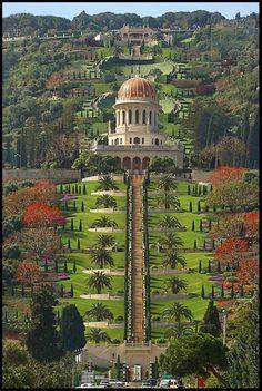Baha'i Gardens in Israel
