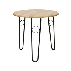 Como Table Natural - The simple design of the wooden Como table comfortably accomodates 3/4 people with matching chairs available to create a set. Very popular for exhibiiton stands, dining or bistro areas. Available in black or natural.