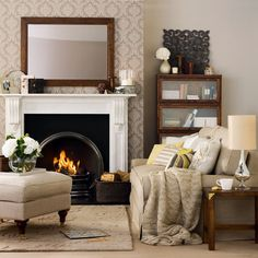 Go for timeless style | Winter living room decorating ideas | housetohome.co.uk