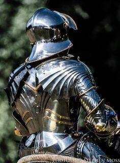 'Sir Mark Caple' courtesy of Stephen Moss/Photos ~ Knight in shining armour