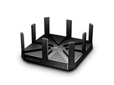 Short Bytes: At CES TP-Link unveiled the world's first Router. The new TP-LINK Talon supports data transfer rate up to This big black router has eight adjustable antennas that can fold down. Best Wireless Router, Best Wifi Router, Gaming Router, Wi Fi, Tp Link Router, Internet Router, Home Network, Works With Alexa, Design Studios
