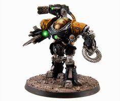 Legio Fureans Dark Mechanicus Castillax Assault Automata