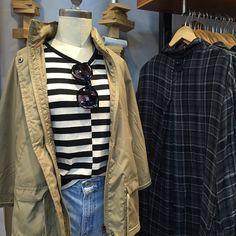 June gloom mood: stripes + summer denim @urbanoutfitters #stripes #denim #blackandwhite #urbanoutfitters #Pixxy