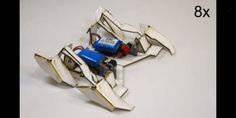 'Origami Robot'  Folds Itself Into Shape & Walks Away (VIDEO)
