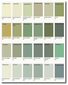 Farrow & Ball Colors Matched to Benjamin Moore  7