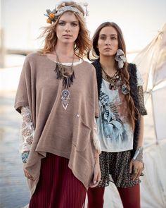 cool neo hippie fashion.