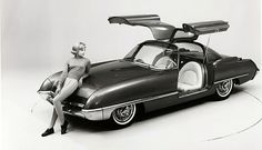1962 Ford Cougar 406 Concept Car | by aldenjewell