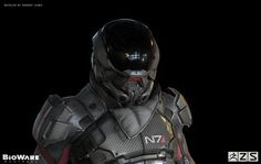 'Mass Effect: Andromeda' is getting a new protagonist — and yet, fans still haven't seen his/her face. Thankfully, one BioWare artist is giving gamers the next best thing: hi-res concept art of the new Armor. Mass Effect Andromeda Characters, Character Concept, Concept Art, Main Character, Character Design, N7 Armor, Body Armor, Marketing Survey, Suits