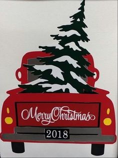 Country Christmas red pick up truck art images de noel Christmas Truck, Noel Christmas, Rustic Christmas, Christmas Projects, Holiday Crafts, Vintage Christmas, Christmas Ornaments, Country Christmas Crafts, Christmas Ideas