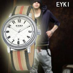 EYKI Men Causal Quartz Watch 2013 New Style ,3ATM Waterproof Drop Shipping  Free Shipping W8455 on AliExpress.com. $18.50