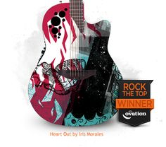 Home | Ovation Guitars - Rock the Top Guitar Design Contest