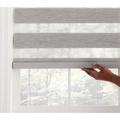 Picture Window Treatments, Sliding Door Window Treatments, Modern Window Treatments, Sliding Door Blinds, Bathroom Window Treatments, Window Treatments Living Room, Sliding Glass Door, Modern Window Coverings, Window Blinds