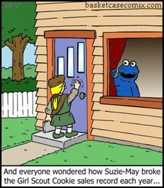 Oh cookie monster...