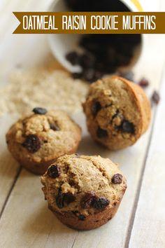Oatmeal Raisin Cookie Muffins Recipe on Yummly