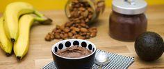 Mousse au Chocolat Avocat Banane Juice Plus, Chocolate Fondue, Gluten, Paleo, Vegan, Tableware, Desserts, Food, Simple