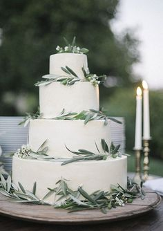 wedding cake stile mediterraneo