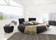 Cama redonda en tu cuarto: glamour y sensualidad: ¿Dónde se compran las sábanas, mantas y colchas?