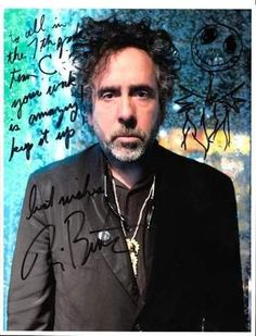 Students at Maine-Endwell Middle School sent samples of their artwork to Tim Burton in September. This May, the school received an autographed photo as a response.
