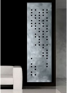 Hotech Design Radiators in home furnishings art Category Wall Radiators, Vertical Radiators, Kitchen Radiators, Braille Alphabet, Radiant Heaters, Alphabet Design, Home Inc, Metal Panels, Led