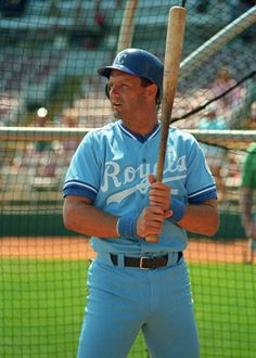George Brett - Kansas City Royals | #5  When I went to the Royals games as a young girl working for Commerce Bancshares, I always chose tickets directly behind 3rd base!  Love George Brett!!!!!