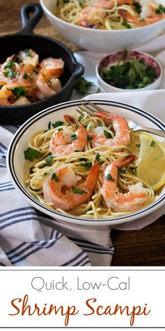 Quick, Low-Cal Shrimp Scampi | Simply Fresh Dinners