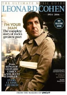 A rare, amazing interview from Uncut's December 1997 issue (Take Leonard Cohen looks back on 30 years of incredible songs and poetry. Rich Quotes, Folk, Uk Magazines, Movie Magazine, Leonard Cohen, Bruce Springsteen, Music Icon, Greatest Songs, Rare Photos
