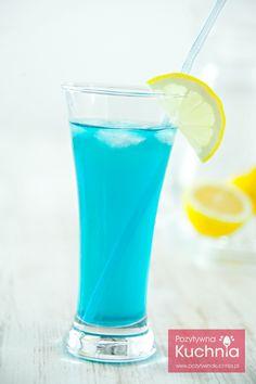 #Drink błękitna laguna - #przepis  http://pozytywnakuchnia.pl/blekitna-laguna/  #kuchnia